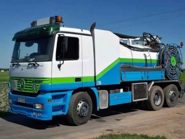 Hydrokan- Samochód Specjalistyczny WUKO firmy KAISER do czyszczenia rur o średnicach Ø 200-1500 mm