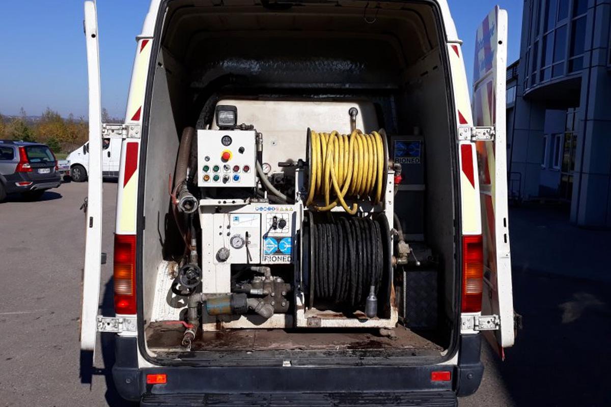 Hydrokan - Usługi kanalizacyjno-inspekcyjne - WUKO RIONED