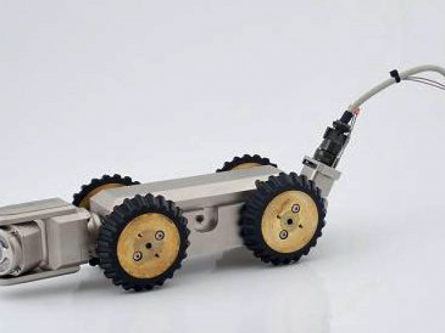 Wózek rejestrujący - Inspekcja TV - monitoring kanalizacji rur - Hydrokan